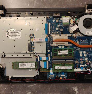 HP 15-ay045ng Disassembly